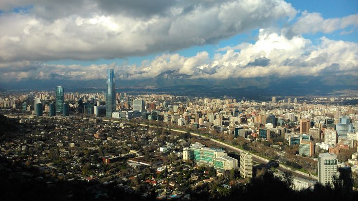 Santiago- Chile; after a rain morning