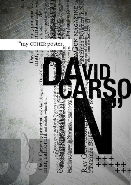 David Carson  inspiration