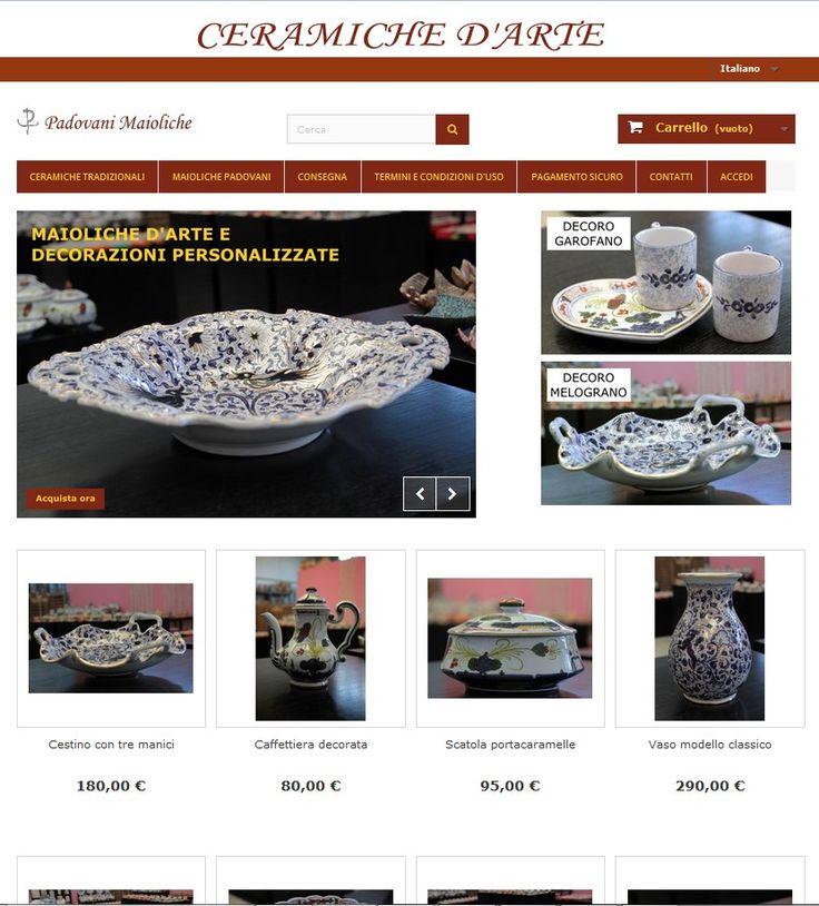 Ceramiche e Maioliche di Faenza in Vendita Online - Sito Ecommerce