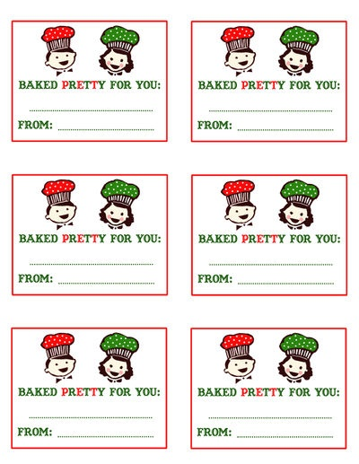 87 best gift tags printable images on pinterest free printables baked pretty for you gift tag negle Images