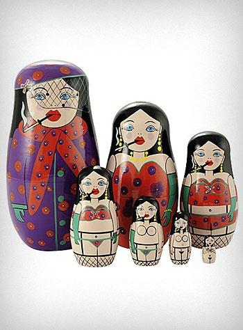 Burlesque Russian Doll Set <3 <3 <3 from shopplasticland.com - $36.00