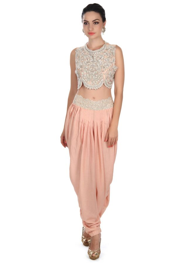 Featuring fancy crop top with embellished jacket only on Kalki ... 35f705a51c