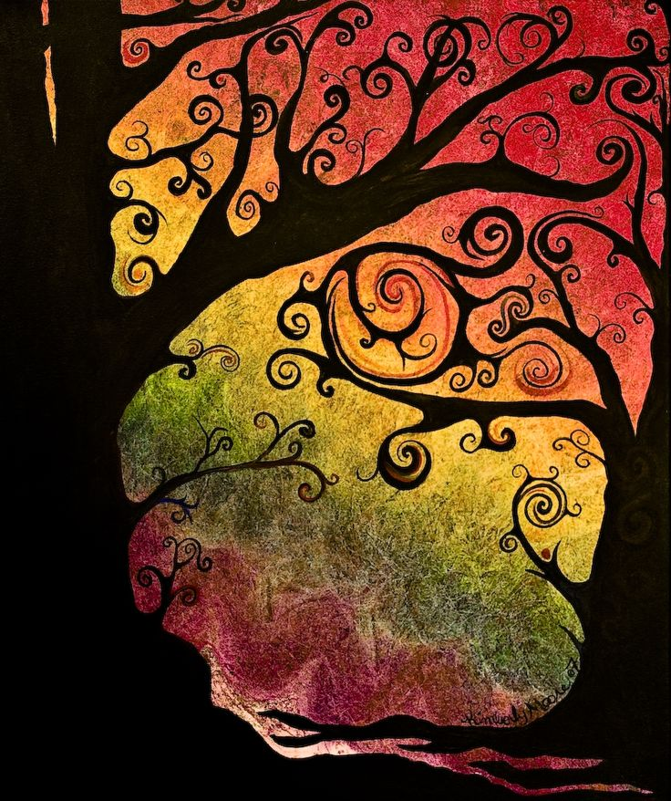 Unique Silhouette Art Ideas On Pinterest Diy Canvas Art - Beautiful painted window silhouettes interact outside world