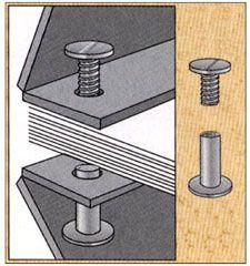 screw post binding | Screw Post Binding