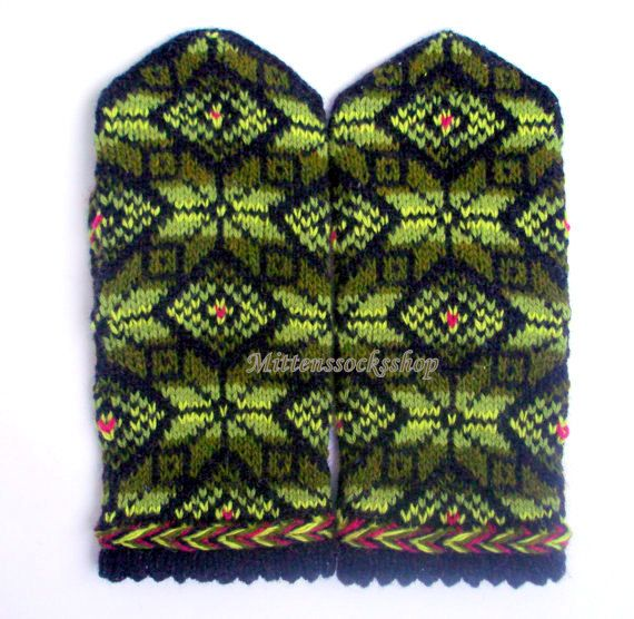 Hand knitted wool mittens-warm and stylish, great and colorful accessory in cold weather! Wonderful gift-mittens for your loved ones! Mittens size : S-big child or small female size M-medium size women L-large womens or mens size small XL- large men size XXL--very large size men
