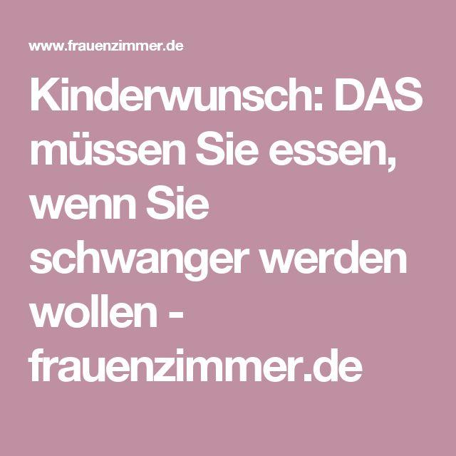 Kinderwunsch: DAS müssen Sie essen, wenn Sie schwanger werden wollen - frauenzimmer.de