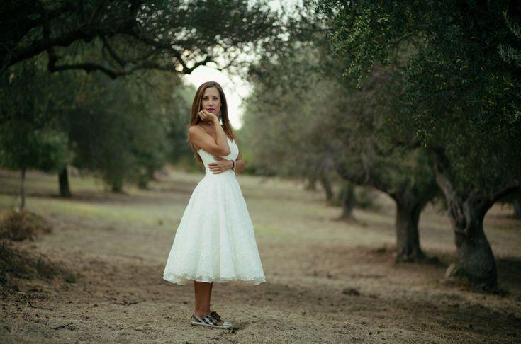 wedding portrait of the bride