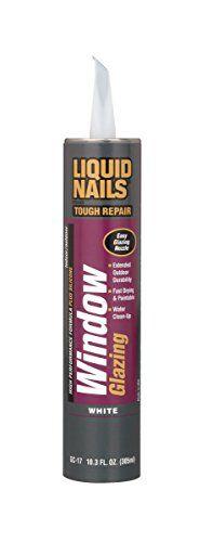 Liquid Nails GC-17 2 Pack 10.3 oz. Window Glazing Sealant, White