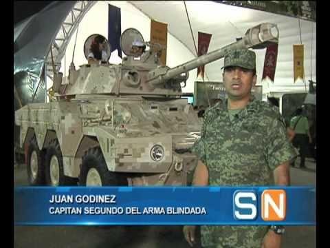 Vehículo ERC LINX Panhard del Ejército Mexicano