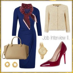 """Job Interview II."" by stehlikova-alice on Polyvore"