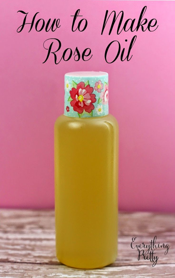 How to make rose oil at home.