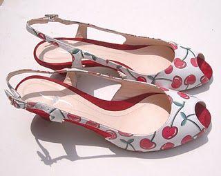Cherry Crush- Shoe
