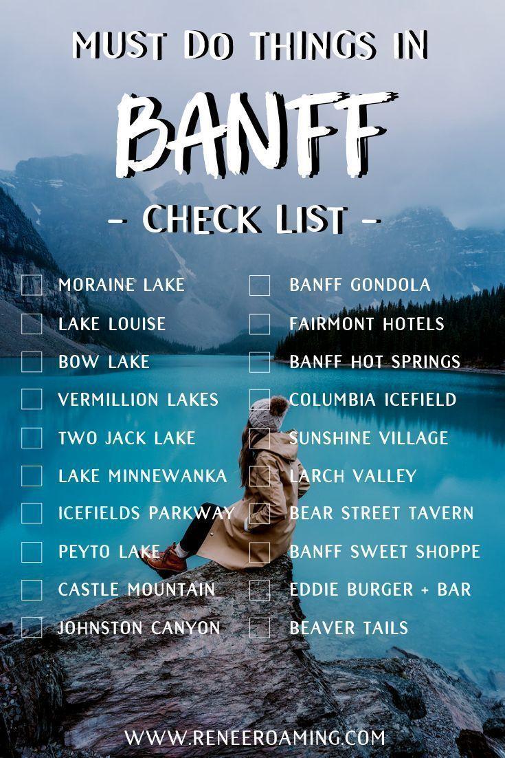 Ein Muss in Banff – Eine Checkliste! Einschließli…