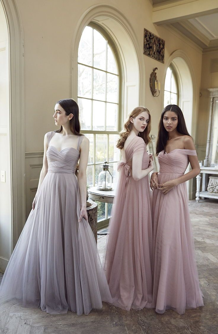 0a2b988a75 Jenny Yoo Collection 2018 Bridesmaids, the convertible Julia dress features  back tie panels and detachable straps that can be used to create different  ...