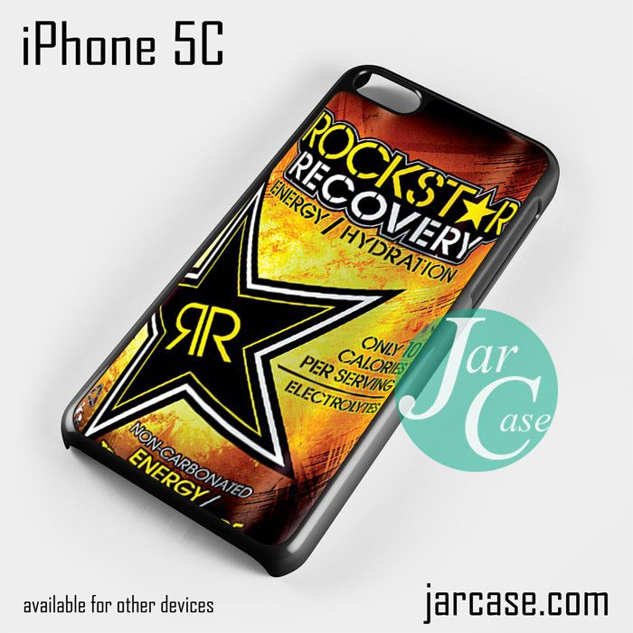 rockstar energy drink recovery Phone case for iPhone 5C and other iPhone devices