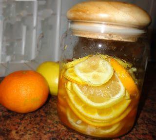 Jadłobooknia: Syrop do herbaty