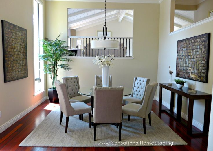 Alamo Formal Dining ~ Staged & SOLD