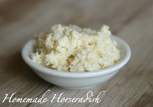 How to Prepare Horseradish (Photo Tutorial) [Healthy, Simple, Vegetarian, Vegan, Gluten-free]
