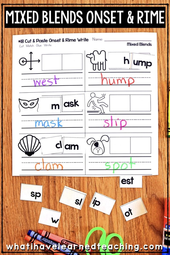 Phonics Worksheets For Initial And Final Blends Phonics Phonics Worksheets Phonics Interactive Notebooks [ 1088 x 725 Pixel ]