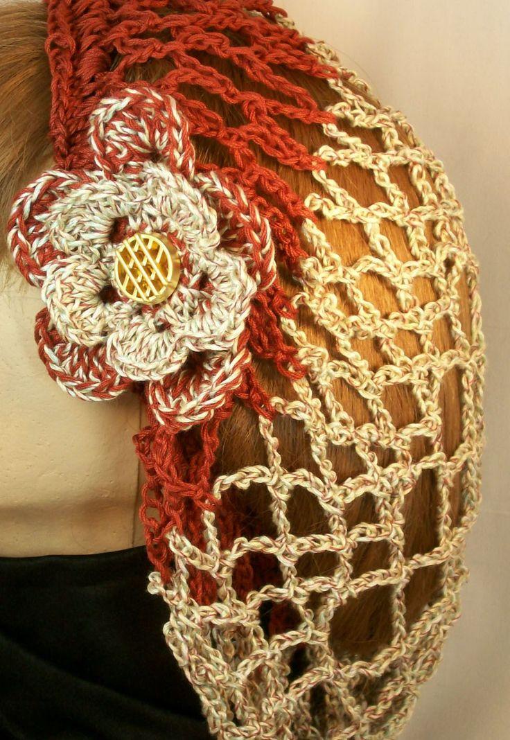 11 best crochet- snoods images on Pinterest | Crochet hats, Crochet ...