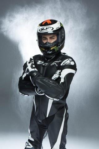 El nuevo casco HJC de Jorge Lorenzo