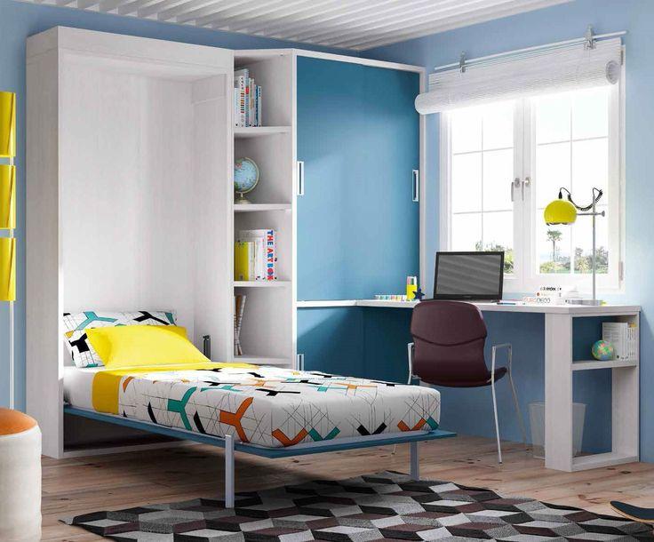 M s de 1000 ideas sobre cama plegable en pinterest casas - Muebles con cama plegable ...