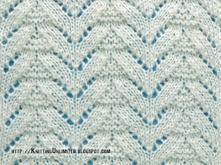 17 Best images about Knitting Stitches: Lace/Eyelet on Pinterest Moss stitc...