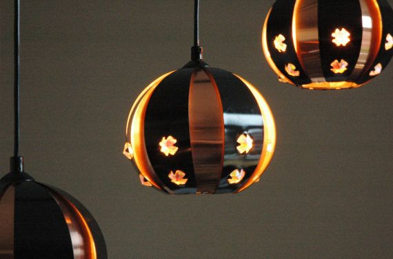 Cluster light by Werner Schou for Coronell vintage door ICONICLIGHTS, €255.00