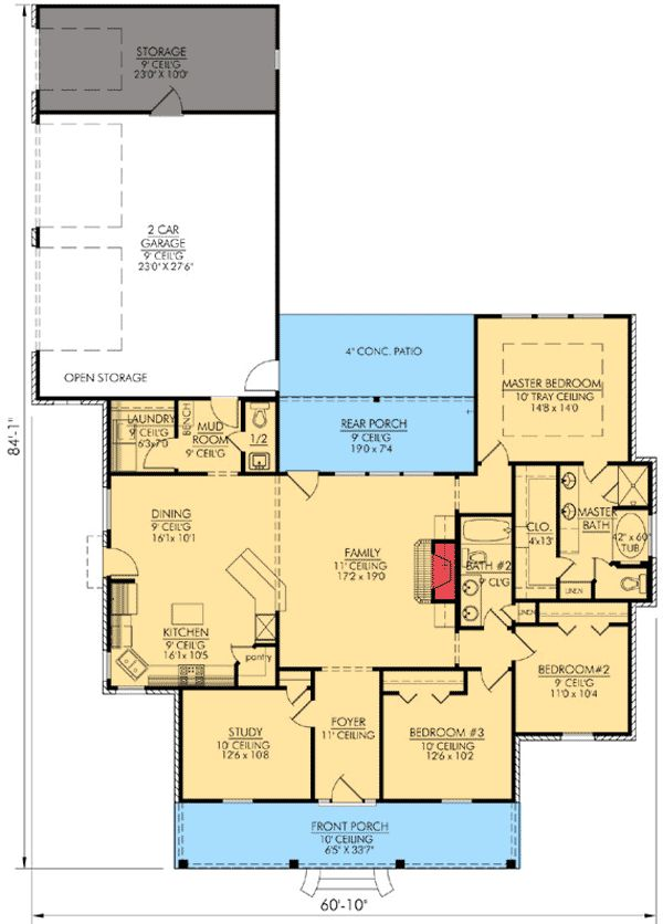 89 best images about house plans on pinterest monster for Garage master sf