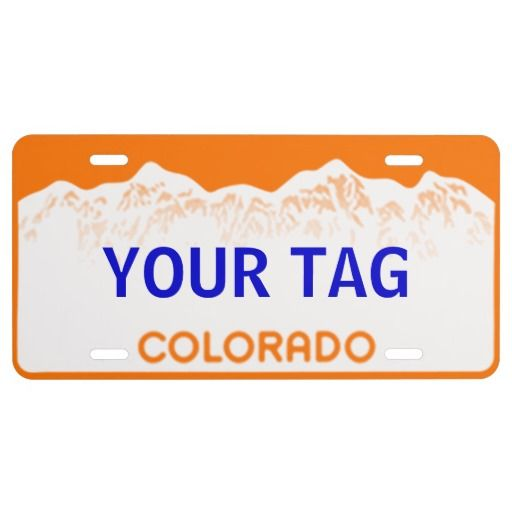 154 Best Customized FRONT License Plates Decorative For
