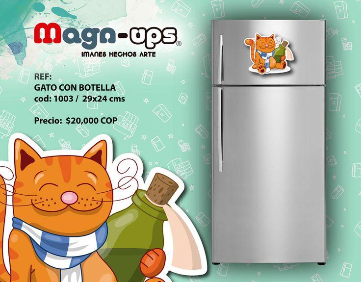 Contáctanos al correo magnups@gmail.com Whatsapp : 57 300 676 91 49. Realizamos envíos a todo Colombia. #imanes #decoración #hogar #cat #nevera #original #Colombia #cocina #diseño #gato
