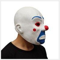 Wish | Adult Joker Bank Robber Mask Clown Batman Dark Knight Cosplay Halloween Costume Cosplay Party Game Latex Prop Masquerade Toy