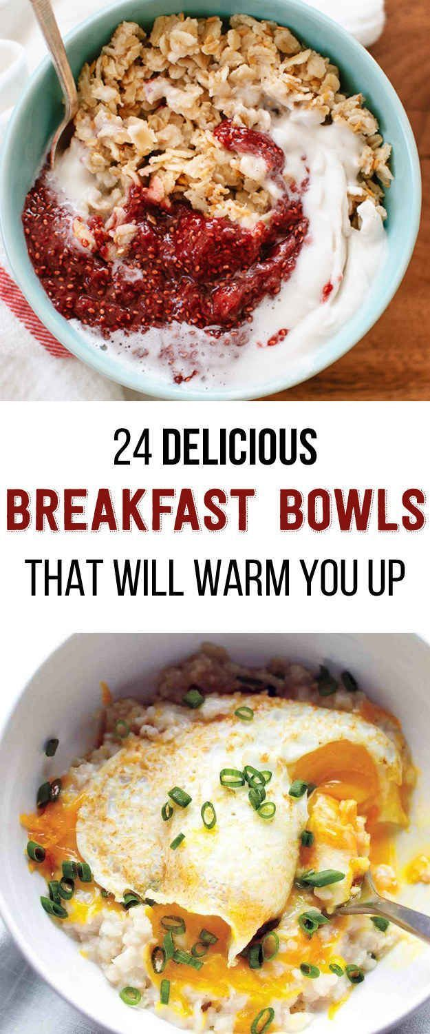 24 Delicious Breakfast Bowls That Will Warm You Up #breakfast