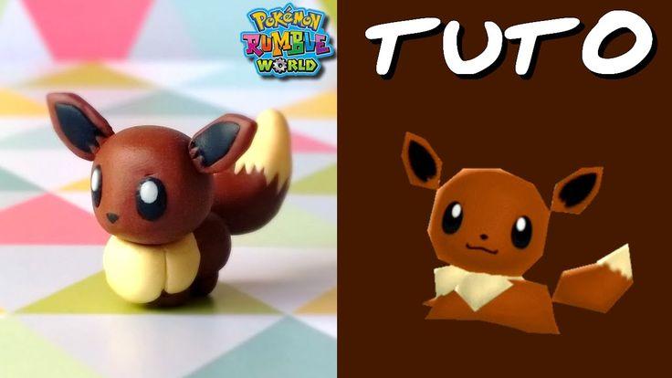 TUTO FIMO | Evoli / Eevee (de Pokémon Rumble World)