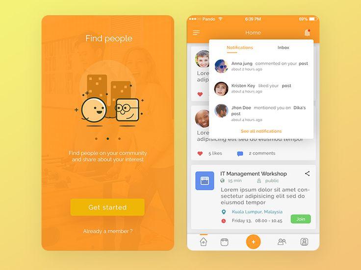 Mobile social network by Zazuly Aziz