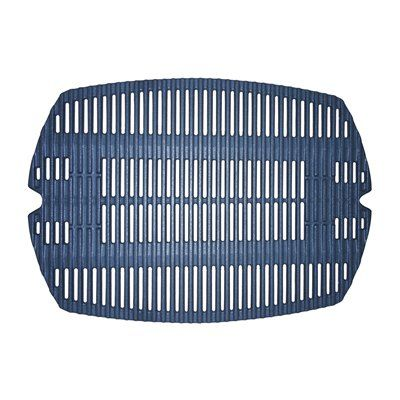 Heavy Duty BBQ Parts 63821 Matte Cast Iron Cooking Grid for Weber Brand Gas Grills