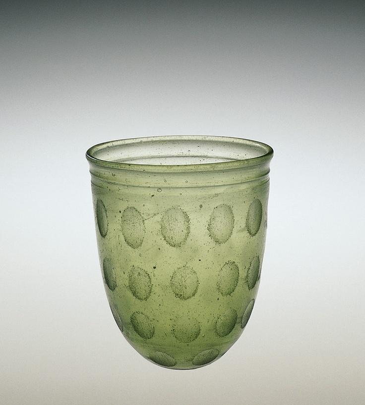 Roman Glass: Beaker, probably 325-375   Corning Museum of Glass