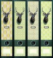 nice idea for decorating ugly binders
