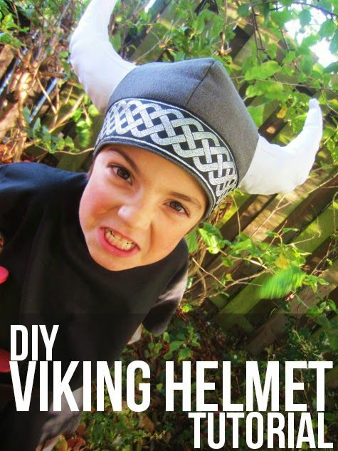Tutorial - A Viking Helmet - Sew Pretty Sew Free