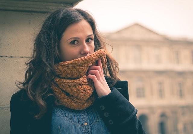 snood, knit, winter