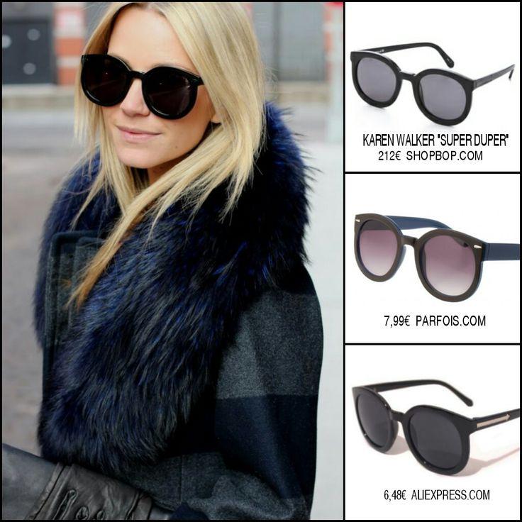 clon gafas de sol karen walker super duper sunglasses inspired replica street style  marc jacobs asos parfois gafas aliexpress 02