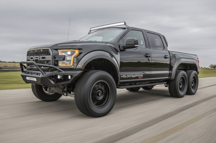 Custom Built 2018 Ford Raptor 'The Velociraptor' Is A 6×6 Beast - USA BEST CARS