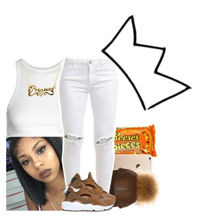 """""""Untitled #389"""" by xtiairax ❤ liked on Polyvore featuring T By Alexander Wang, FiveUnits and NIKE"""