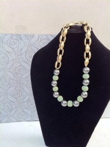 Pastel. Tosca beads and pearl. IDR 75.000