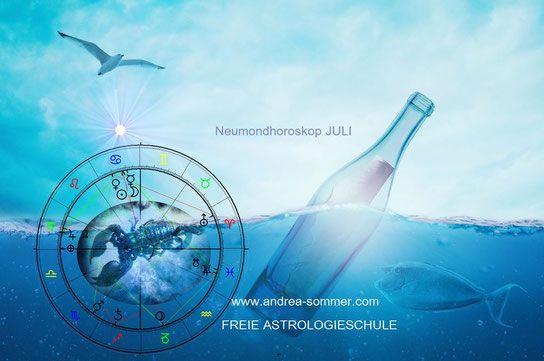 Tierkreiszeichen Neumond Vollmond Horoskop Partnerschaft Single Beruf