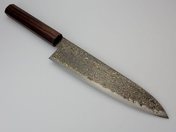 Konosuke NT gyuto (chefsmes), 210 mm, rosewood | Konosuke | Japanse keukenmessen