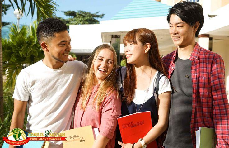 English study abroad, Genius English Proficiency Academy in Cebu, Philippines. conversation, business course, vacation camp, examination preparation.