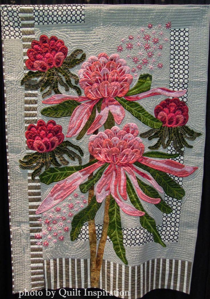 Ena's Pink Waratahs by Denise Griffiths , Australia