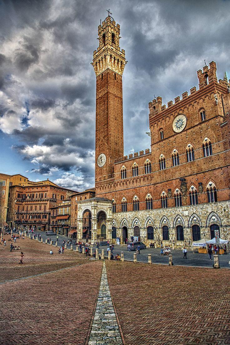 Olaszország-Siena, Italy (Siena történelmi központja-1995, kulturális Világörökség)