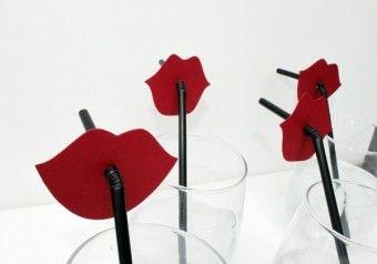 Как самостоятельно украсить трубочки для коктейлей